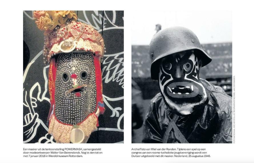 Beeldrijm Powermask @ Wereldmuseum Rotterdam