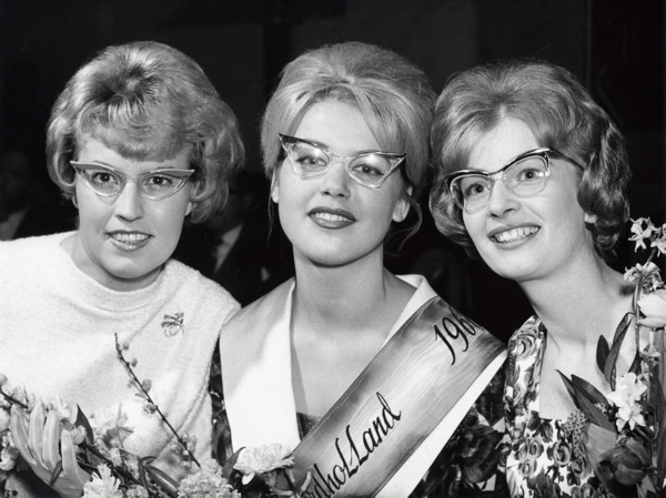 Miss Bril. Noord-Holland 1960.