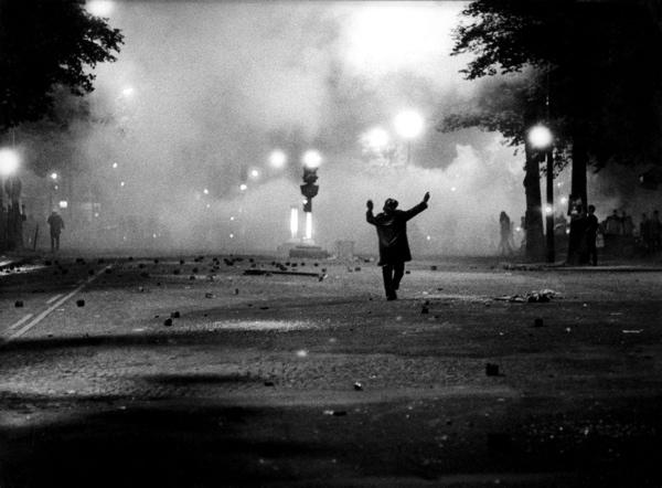 Meirevolutie / Studentenrellen / Studentenopstand Parijs, Frankrijk 1968. foto 2, Parijs