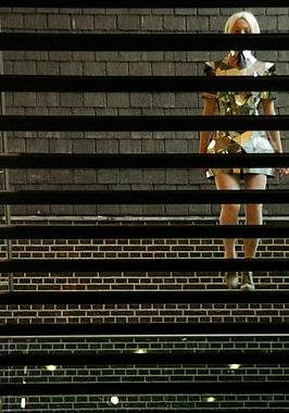 Catwalk Performance Philharmonie Haarlem. Modeacademie Antwerpen. Charlotte Pringels. Samenstelling: Jedithja de Groot en Djinn Kwekkeboom.