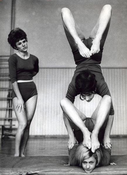 Gymnastiek vrije oefening,  1965