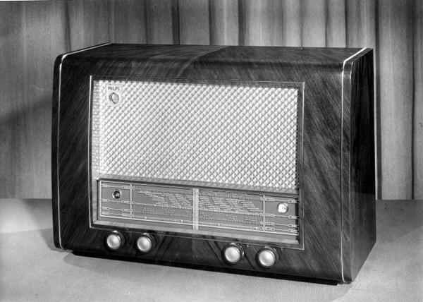 Radio van Philips, [jaren '60].