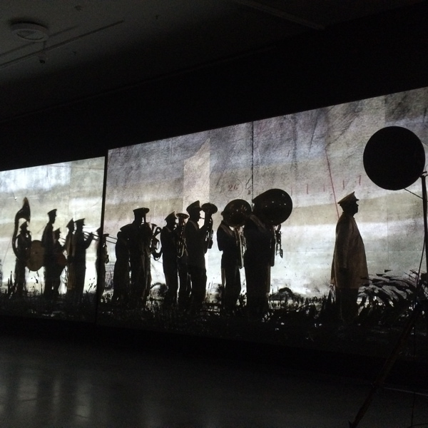 uit tentoonstelling: If we ever get to Heaven, William Kentridge, EYE, 2015